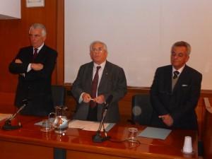Francesco Marullo, Nunzio Romeo e Claudio Crinò