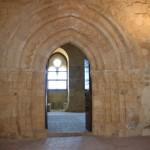 Uno scorcio dell'interno del Castello di Naro