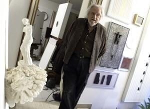 Elio Marchegiani nel suo studio (2012), LGT