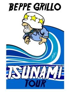 Tsunami Tor grafica Grillo