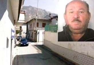 Via-Settembrini-a-Mondragone-luogo-del-delitto-e-nel-riquadro-Gerlando-Sollano