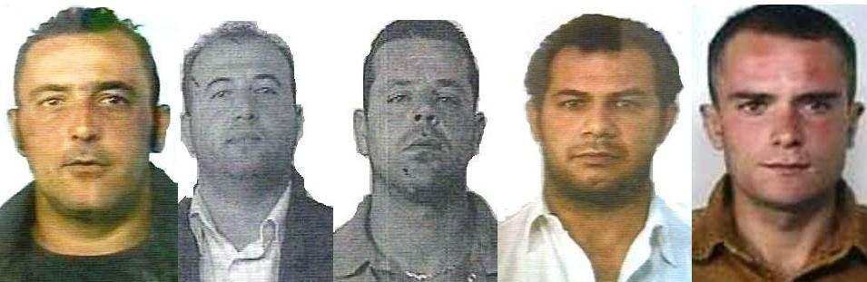 Da-sinistra-Maurizio-Emanuele-Vincenzo-Barbaro-Silvio-Cuffaro-Raimondo-Oreto-e-la-vittima-Maurizio-Giglione