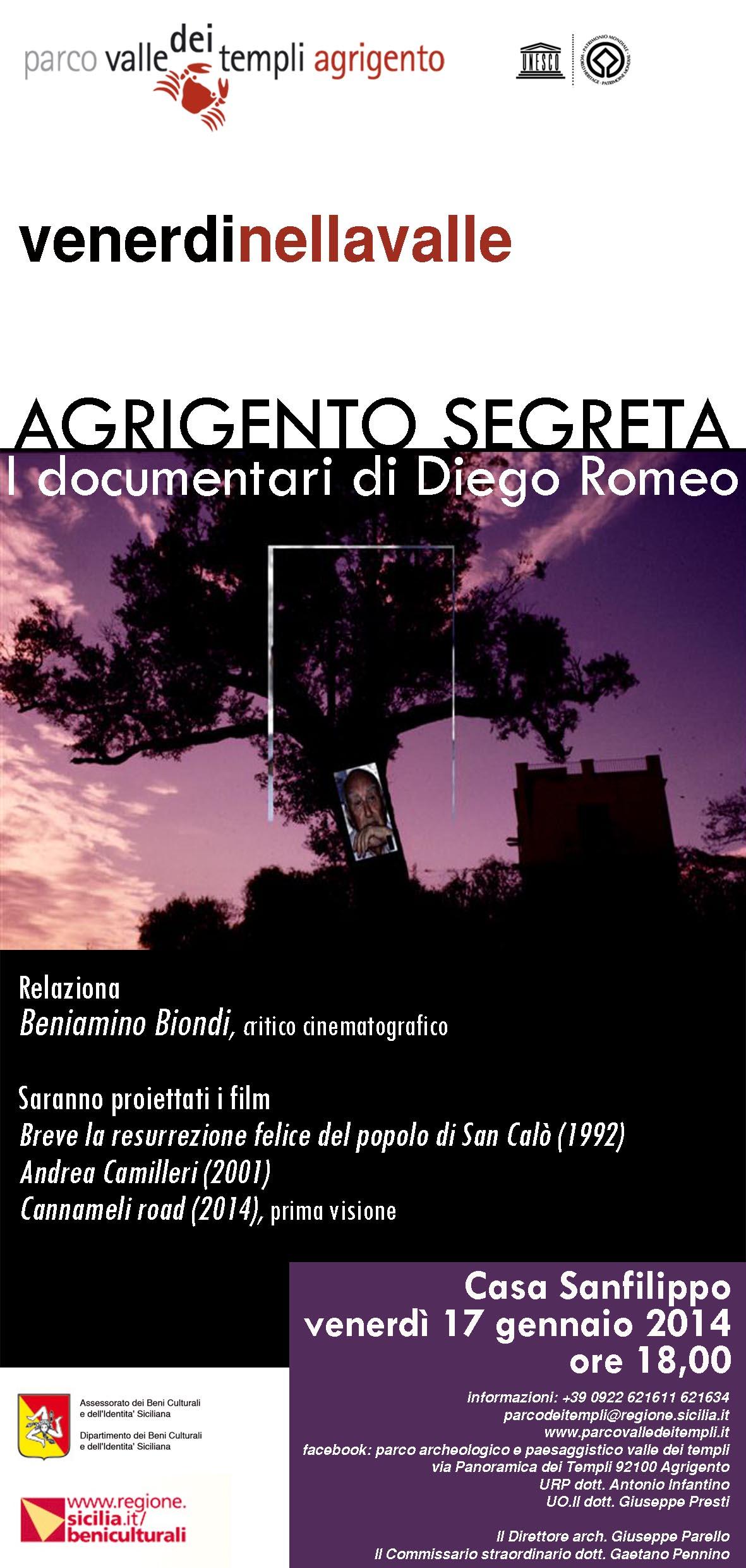 LOCANDINA DIEGO ROMEO
