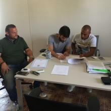 Bruno Pezzella firma contratto